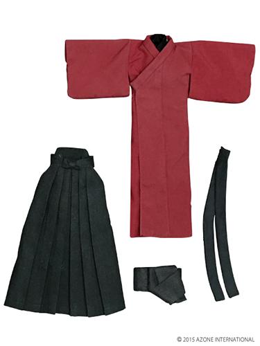AZONE/Pureneemo Original Costume/ALB152【1/6サイズドール用】PNXS男の子着物・袴セット~夕霞~