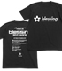 blessing software Tシャツ