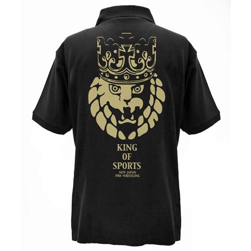 新日本プロレスリング/新日本プロレスリング/ライオンマーク王冠ポロシャツ