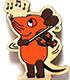 マウス(TM) エコウッドマグネット ドイツは音楽の国