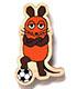 マウス(TM) エコウッドマグネット ドイツはサッカーの国