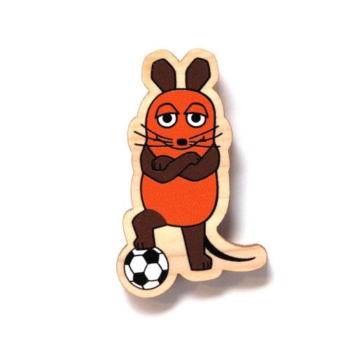 MAUS/MAUS(TM)/マウス(TM) エコウッドマグネット ドイツはサッカーの国