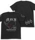 第666戦術機中隊 黒の宣告Tシャツ