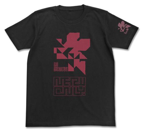 エヴァンゲリオン/EVANGELION/NERV蓄光ロゴTシャツ