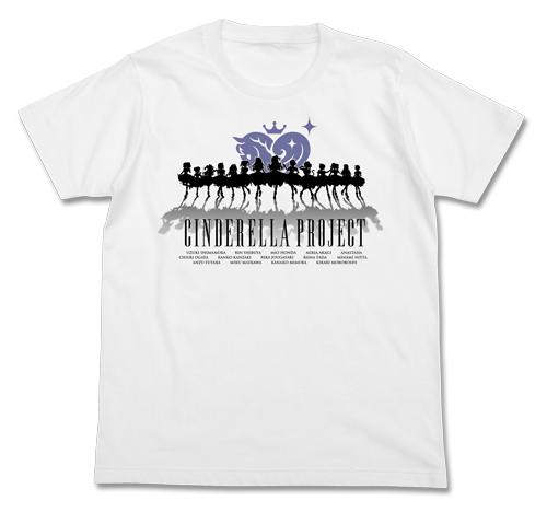 THE IDOLM@STER/アイドルマスター シンデレラガールズ/シンデレラプロジェクト シルエット Tシャツ