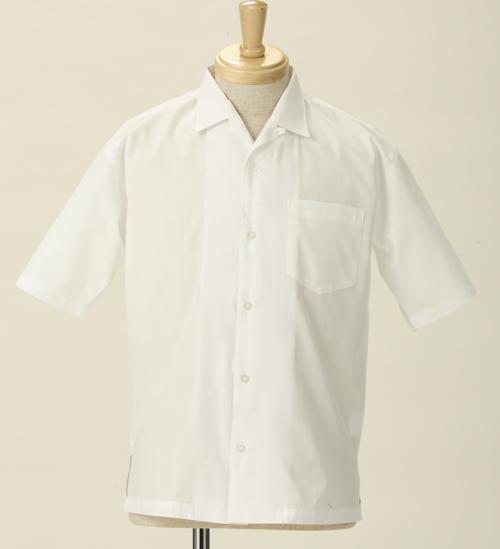 メーカーオリジナル/COSPATIOセレクト商品/汎用 開襟シャツ/半袖