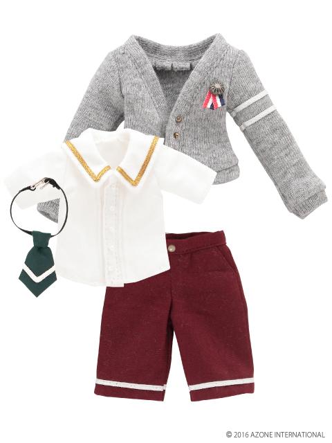AZONE/Pureneemo Original Costume/ALB153【1/6サイズドール用】PNXS男の子プレパラトリースクールセット