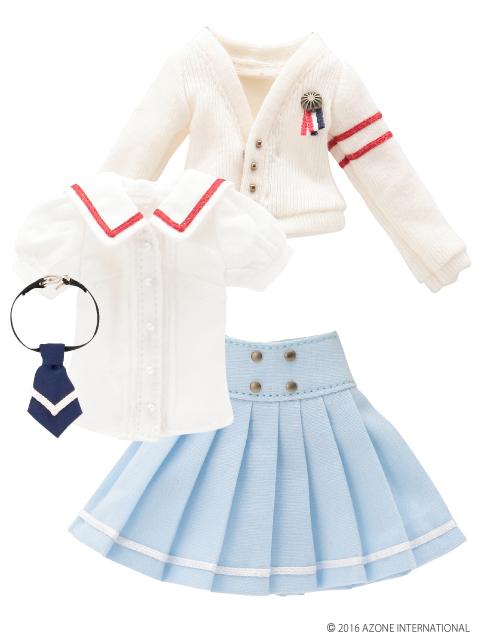 AZONE/Pureneemo Original Costume/ALB154【1/6サイズドール用】PNXS女の子プレパラトリースクールセット