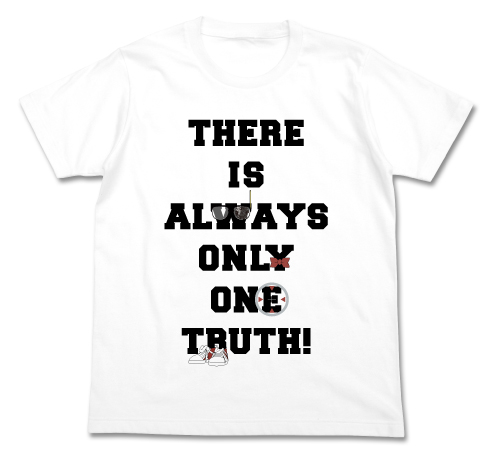 名探偵コナン/名探偵コナン/真実はいつも一つメッセージ Tシャツ
