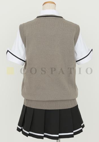少女たちは荒野を目指す/少女たちは荒野を目指す/私立百景学園女子制服 ニットベスト