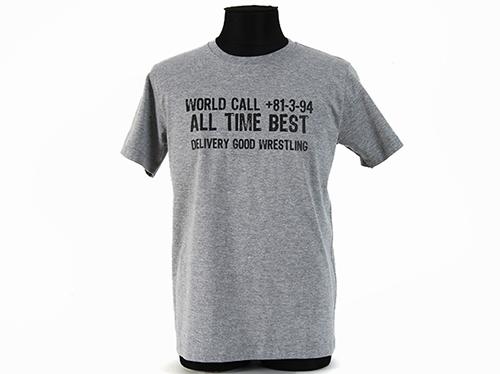 新日本プロレスリング/新日本プロレスリング/KUSHIDA「WORLD CALL」Tシャツ