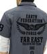 ガンダム シリーズ/機動戦士ガンダム第08MS小隊/極東方面軍 第08小隊ワッペンベースワークシャツ