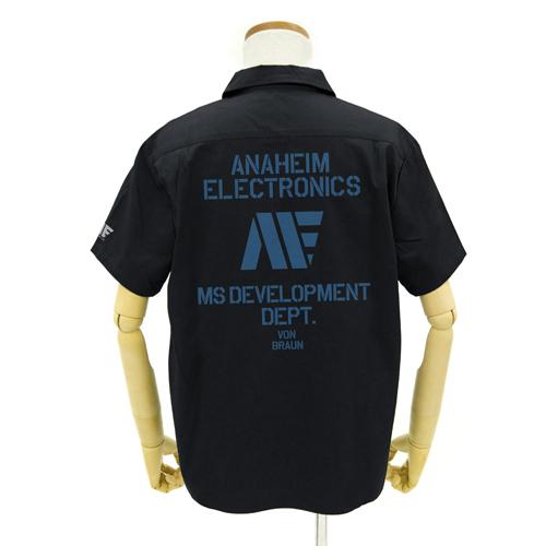 ガンダム/機動戦士Zガンダム/アナハイム ロゴ ワッペンベースワークシャツ