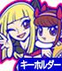 おそ松さん/おそ松さん/レンタル彼女 イヤ代&チビ美つままれキーホルダー