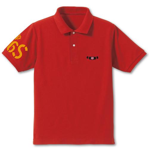 ガンダム/機動戦士ガンダム/シャアザクモノアイ刺繍ポロシャツ