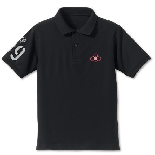 ガンダム/機動戦士ガンダム/ドムモノアイ刺繍ポロシャツ