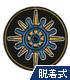 横須賀女子海洋学校 航海科 特技章脱着式ワッペン