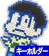 おそ松さん/おそ松さん/チョロ松アイロンビーズ風キーホルダー
