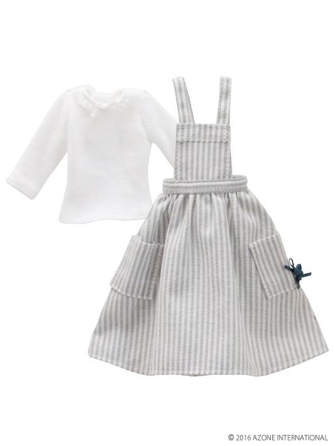 AZONE/Pureneemo Original Costume/PNM140【1/6サイズドール用】PNMナチュラルエプロンワンピースセット