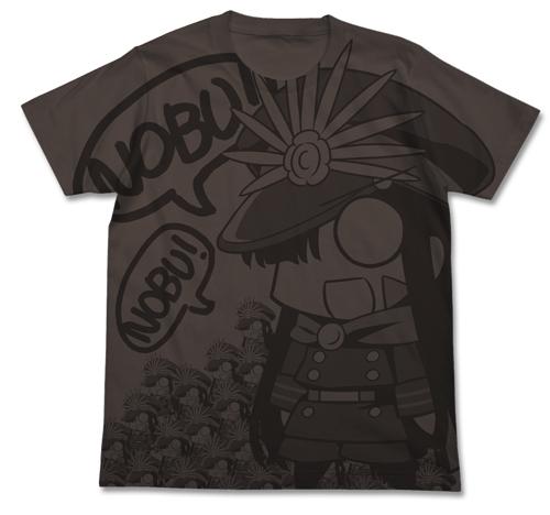 ノッブぐだぐだ本能寺オールプリントTシャツ
