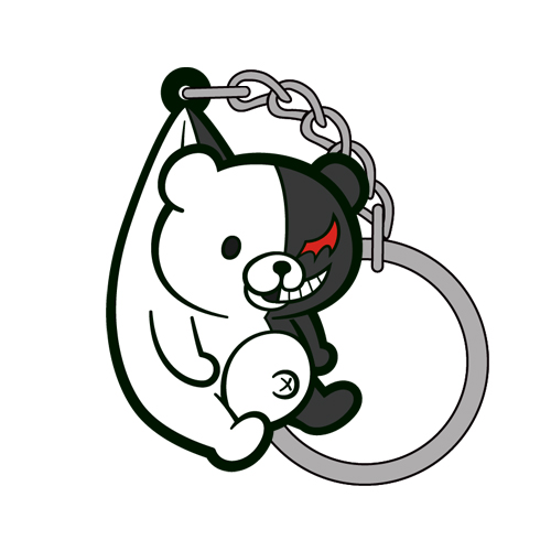 ダンガンロンパ/ダンガンロンパ3 -The End of 希望ヶ峰学園-/モノクマつままれキーホルダーVer.2.0
