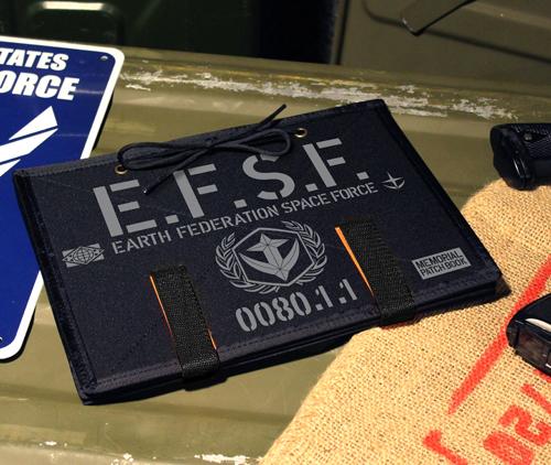 ガンダム/機動戦士ガンダム/地球連邦軍終戦記念脱着式ワッペンブック