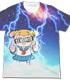 サンダーポプ子フルグラフィックTシャツ