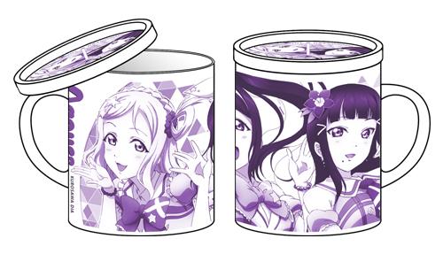 ラブライブ!/ラブライブ!サンシャイン!!/果南・ダイヤ・鞠莉フタつきマグカップ