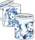千歌・梨子・曜フタつきマグカップ