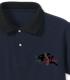黒ウサギ隊 刺繍ポロシャツ