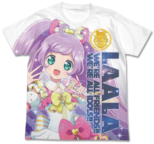 プリパラ/プリパラ/真中らぁらフルグラフィックTシャツ