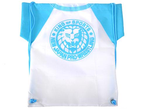 新日本プロレスリング/新日本プロレスリング/新日本プロレス ライオンマーク ナップサック(ライトブルー)