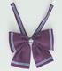 光海学園 中・高等部女子制服 リボン 中等部(紫)
