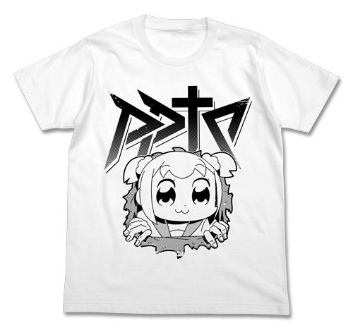 ポプテピピック/ポプテピピック/腹ポプTシャツ