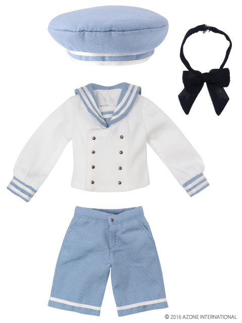 AZONE/Pureneemo Original Costume/ALB156【1/6サイズドール用】PNXS ギムナジウムセーラーセットII