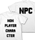 NPCが着てるTシャツ