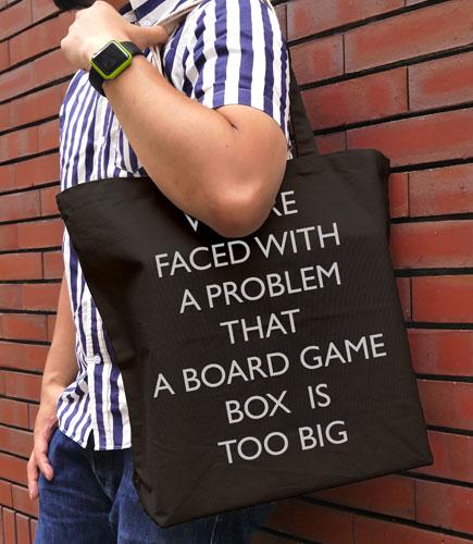 アイテムヤ/アイテムヤ/ゲームの箱大きすぎる問題ラージトート
