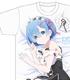 Re:ゼロから始める異世界生活 レムのフルグラフィックTシャツ
