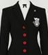 秀尽学園高校 女子制服ジャケットセット