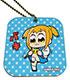 レザーミラーチャーム「ポプテピピック」04/スタンプデザイン04