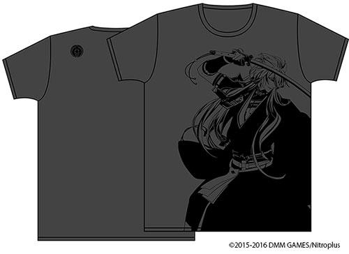 刀剣乱舞/刀剣乱舞/刀剣乱舞-ONLINE- 紋刺繍入りTシャツ 小狐丸