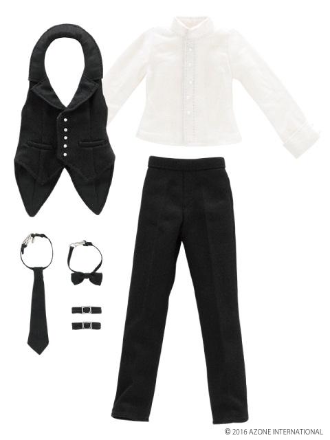 AZONE/Pureneemo Original Costume/ALB162【1/6サイズドール用】PNXS 男の子執事セット