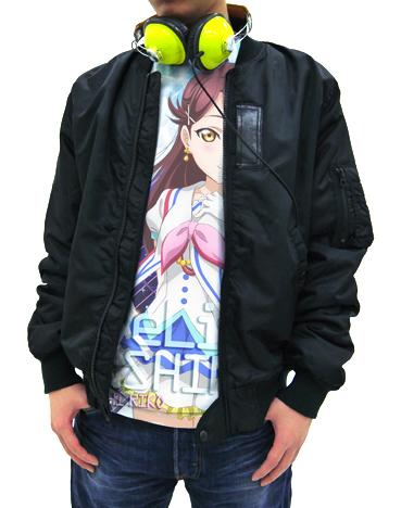 ラブライブ!/ラブライブ!サンシャイン!!/桜内梨子フルグラフィックTシャツ