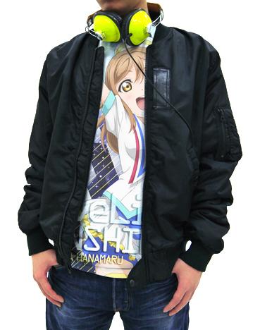 ラブライブ!/ラブライブ!サンシャイン!!/国木田花丸フルグラフィックTシャツ