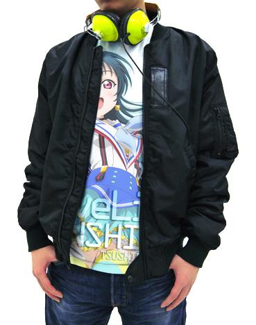 ラブライブ!/ラブライブ!サンシャイン!!/津島善子フルグラフィックTシャツ