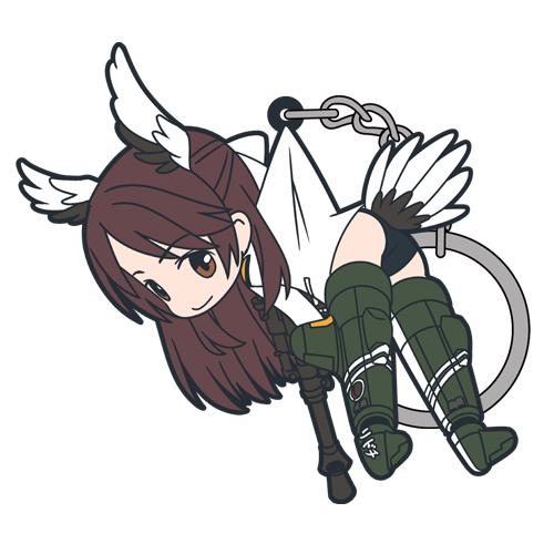 ストライクウィッチーズ/ブレイブウィッチーズ/雁淵孝美つままれキーホルダー
