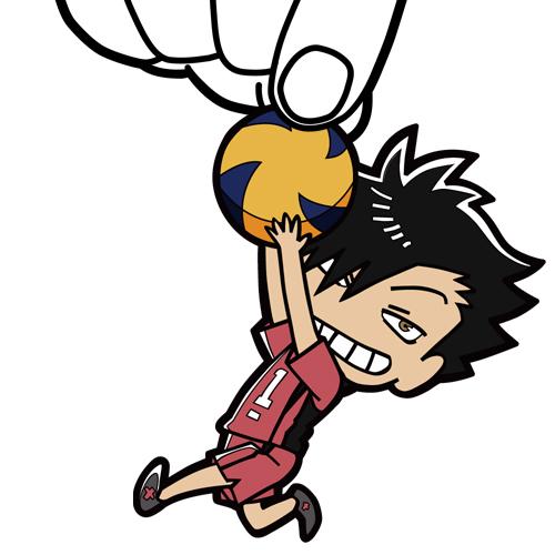 ハイキュー!!/ハイキュー!! 烏野高校 VS 白鳥沢学園高校/黒尾鉄朗つままれストラップ