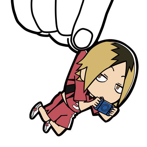 ハイキュー!!/ハイキュー!! 烏野高校 VS 白鳥沢学園高校/孤爪研磨つままれストラップ
