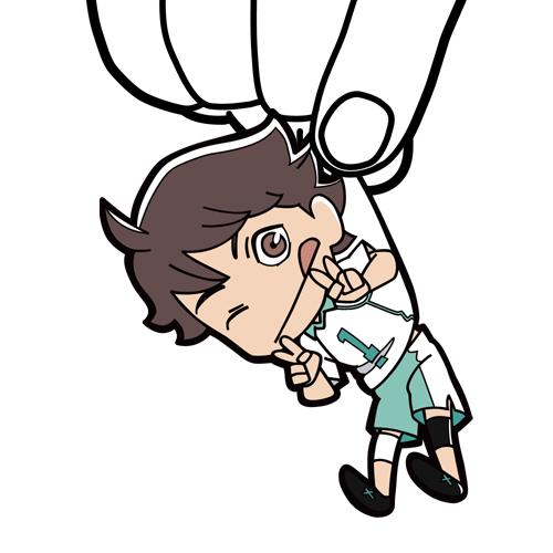 ハイキュー!!/ハイキュー!! 烏野高校 VS 白鳥沢学園高校/及川徹つままれキーホルダー
