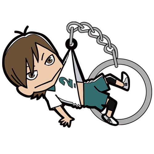ハイキュー!!/ハイキュー!! 烏野高校 VS 白鳥沢学園高校/二口堅治つままれキーホルダー